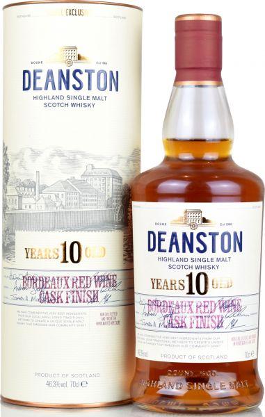 Deanston 10 Jahre Bordeaux Red Wine Cask 46,3% vol.