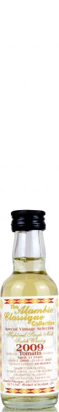 Tomatin 11 Jahre 2009/2021 Sherry Cask Alambic Classique 51,7% vol. Miniatur