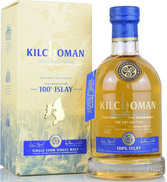 Kilchoman 100% Islay 10th Release 50% vol.