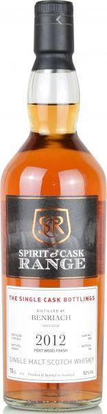 Benriach 2012/2019 Port Wood Spirit & Cask Range 52% vol.