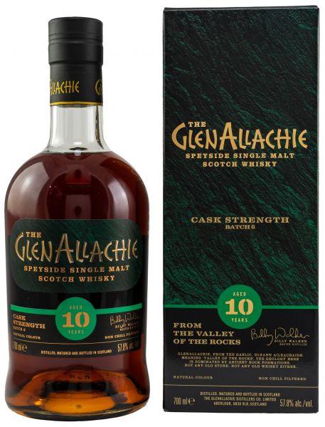 Glenallachie-SET - 10 Jahre Cask Strength Batch #6 57,8% vol. + 12 Jahre