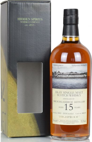 Bruichladdich 15 Jahre 2002/2018 Sherry Cask Hidden Spirits 53,1% vol.