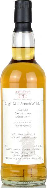 Glentauchers 2014/2019 1st Fill Oloroso Sherry #9900128 HEB 64,1% vol.