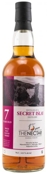 Secret Islay 7 Jahre 2003/2020 The Nectar of the Daily Drams 49,9% vol.