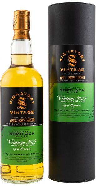 Mortlach 2012/2020 SV Small Batch Cask Strength Edition #1 59,9% vol.