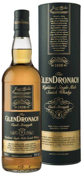 Glendronach Cask Strength Batch #9 59,4% vol.