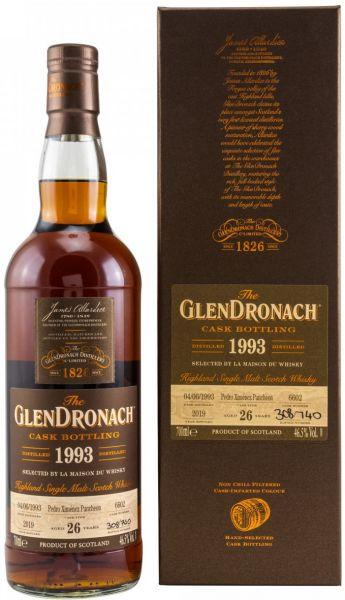 Glendronach 26 Jahre 1993/2019 PX Sherry Butt #6602 46,5% vol.