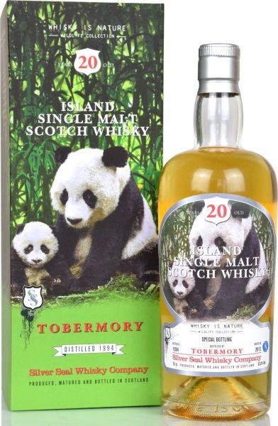 Tobermory 20 Jahre 1994/2015 Silver Seal 53,8% vol.