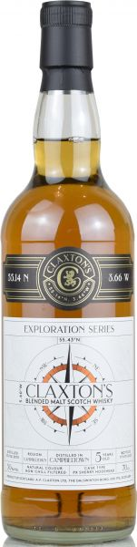 Campbeltown 5 Jahre 2015/2020 PX Sherry Cask Claxton's Exploration Series 50% vol.