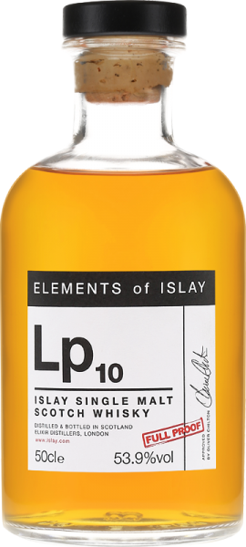 Laphroaig Lp10 1998/2019 Elements of Islay 53,9% vol.