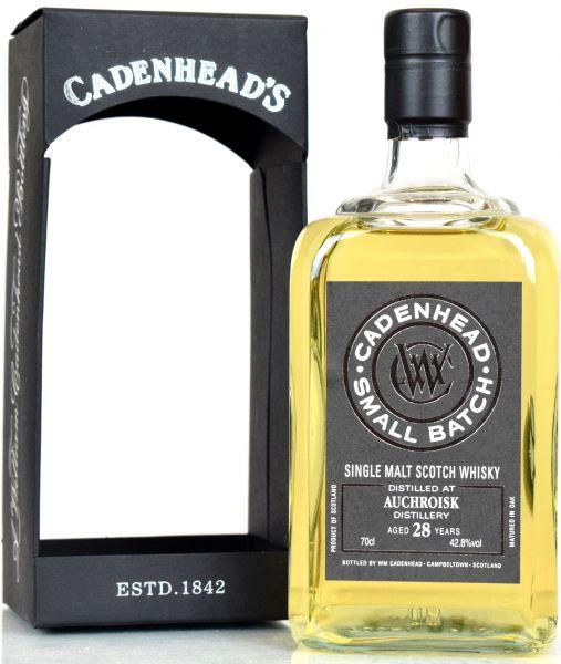 Auchroisk 28 Jahre 1988/2017 Cadenhead's 42,8% vol.