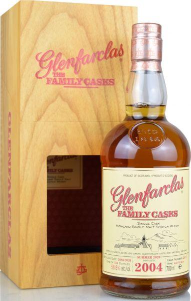 Glenfarclas 15 Jahre 2004/2020 Family Casks S20 #2417 58,8% vol.