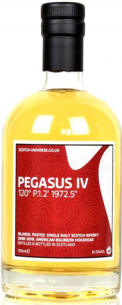 Pegasus IV 10 Jahre 2008/2018 Scotch Universe 61,5% vol.