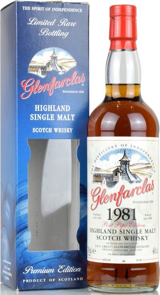 Glenfarclas 1981/2014 Port Pipe Edition