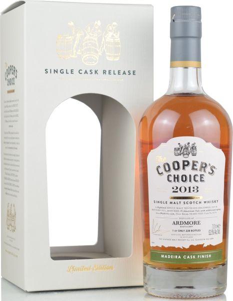 Ardmore 7 Jahre 2013/2021 Madeira Cask Cooper's Choice 52,5% vol.