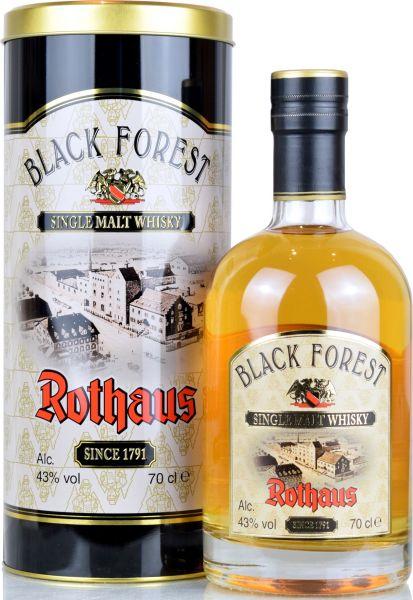 Black Forest Rothaus Single Malt Whisky 43% vol.