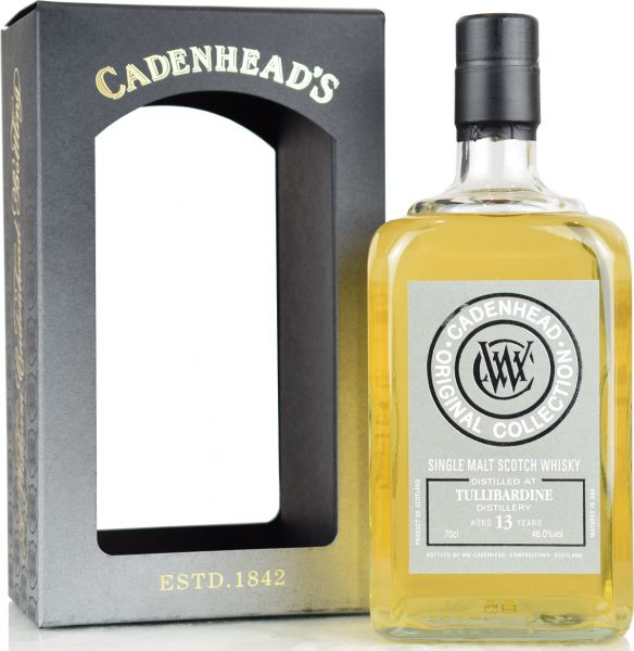 Tullibardine 13 Jahre 2007/2020 Cadenhead Original Collection 46% vol.