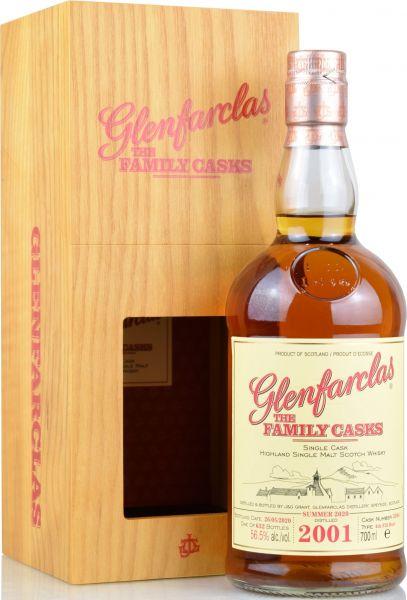 Glenfarclas 18 Jahre 2001/2020 Family Casks S20 #3384 56,5% vol.