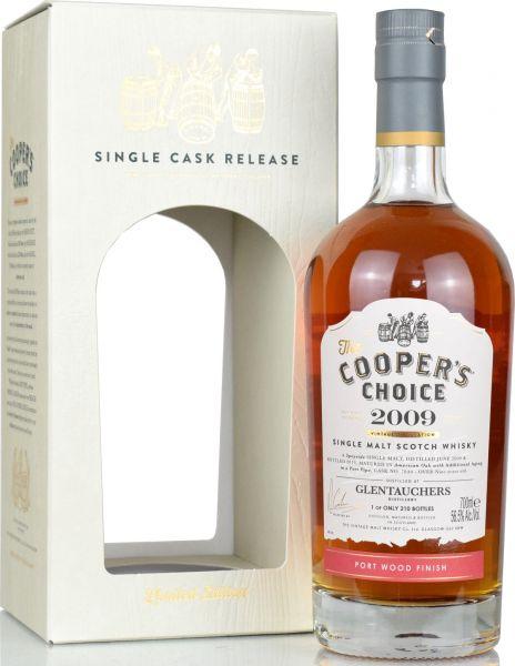 Glentauchers 9 Jahre 2010/2019 Port Cask Cooper's Choice 56,5% vol.