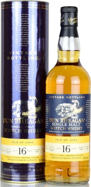 Isle of Jura 16 Jahre 2003/2019 Wine Cask Finish Dun Bheagan 56,1% vol.