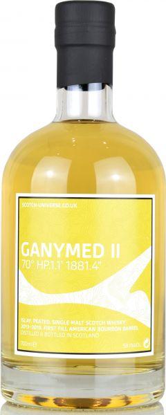 Ganymed II 2013/2019 1st Bourbon Barrel Scotch Universe 58,1% vol.