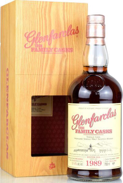 Glenfarclas 28 Jahre 1989/2018 Family Casks W18 #13010 51,4% vol.