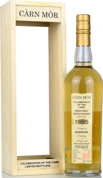 Bowmore 23 Jahre 1995/2018 Carn Mor Celebration of the Cask #824 48,3% vol.