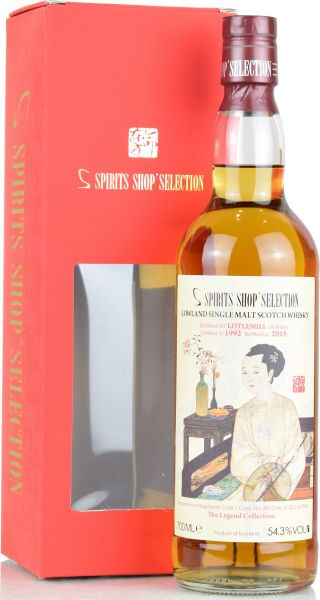 Littlemill 25 Jahre 1992/2018 S-Spirits Shop Selection #38 54,3% vol.