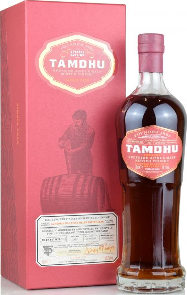Tamdhu 2006/2020 1st Fill Sherry Single Cask for deinwhisky.de 59,7% vol.