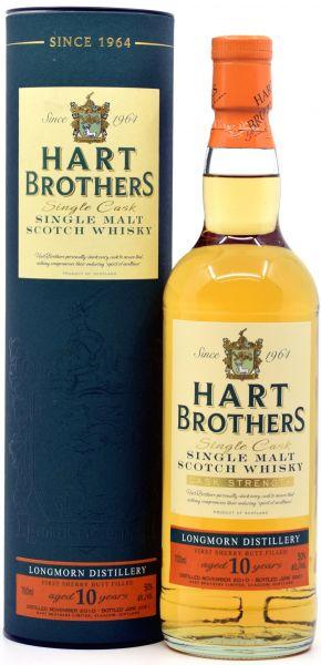 Longmorn 10 Jahre 2010/2021 1st Fill Sherry Hart Brothers 50% vol.