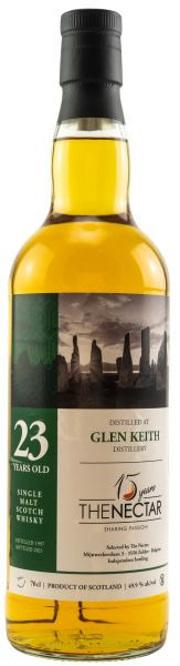 Glen Keith 23 Jahre 1997/2021 The Nectar of the Daily Drams 49,9% vol.
