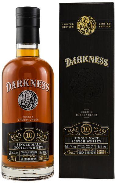 Glen Garioch 10 Jahre PX Sherry Finish Darkness! 51,5% vol.