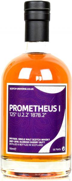 Prometheus I 10 Jahre 2007/2018 Oloroso Sherry Scotch Universe 58,7% vol.