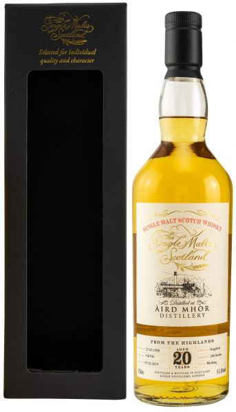 Aird Mhor (Ardmore) 20 Jahre 1998/2018 The Single Malts of Scotland 51,6% vol.