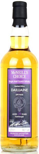 Dailuaine 20 Jahre 1992/2013 McNeill's Choice 54,1% vol.