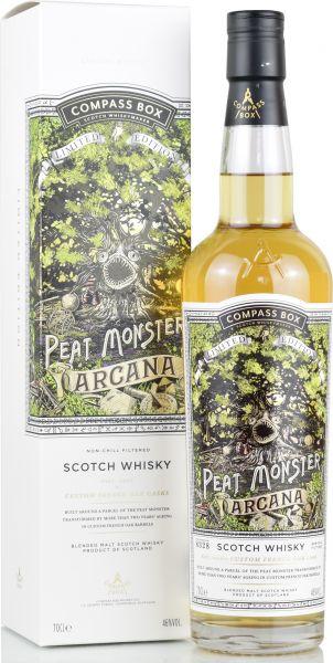Peat Monster ARCANA Compass Box 46% vol.