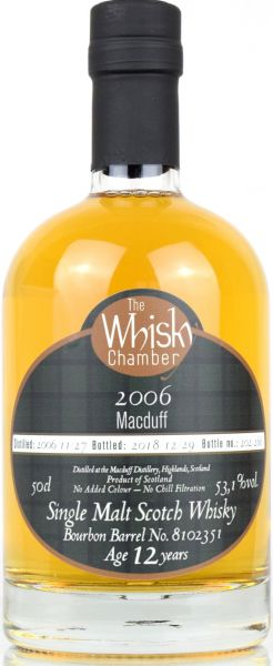 Macduff 12 Jahre 2006/2018 The Whisky Chamber 53,1% vol.