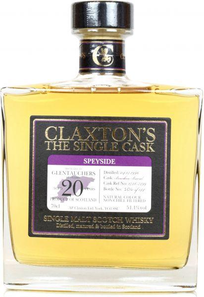 Glentauchers 20 Jahre 1996/2017 Claxton's 51,1% vol.