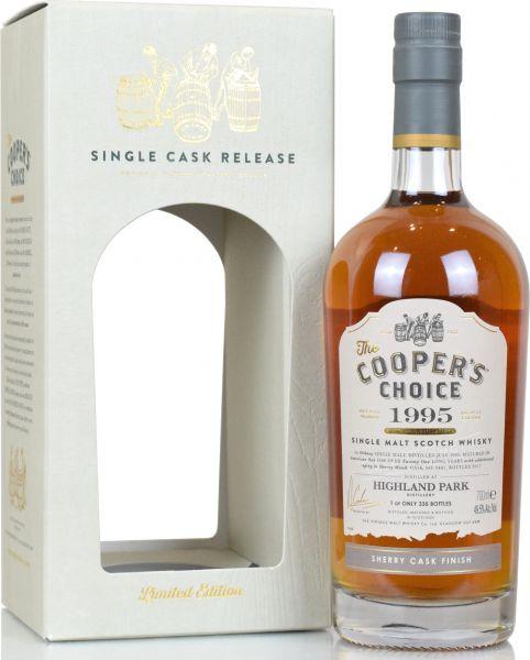 Highland Park 21 Jahre 1995/2017 Sherry Cask Cooper's Choice #9481 49,5% vol.