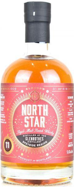 Glenrothes 11 Jahre 2007/2019 Sherry Butt North Star Spirits #009 51,4% vol.