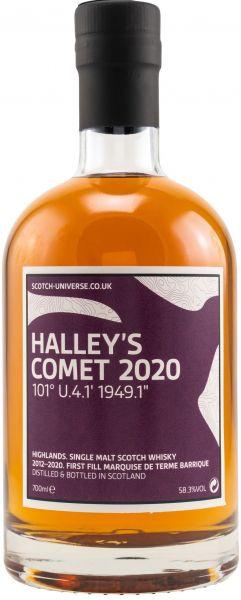 Halley's Comet 2020 2012/2020 1st Fill Marquise de Terme Scotch Universe 58,3% vol.