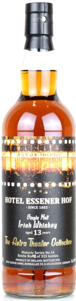 Irish Malt 13 Jahre Hotel Essener Hof Astra Theater Collection #16 PX Sherry Cask 56,1% vol.