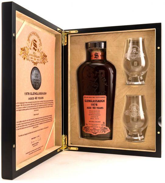 Glenglassaugh 1978/2018 Signatory Vintage 30th Anniversary 40,9% vol.