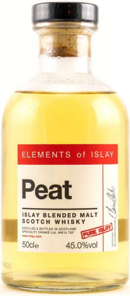 Peat Pure Islay Elements of Islay 45,0% vol.