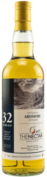 Ardmore 32 Jahre 1988/2021 The Nectar of the Daily Drams 47,2% vol.