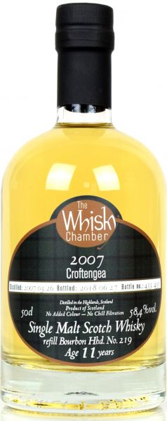 Croftengea 11 Jahre 2007/2018 The Whisky Chamber 58,4% vol.