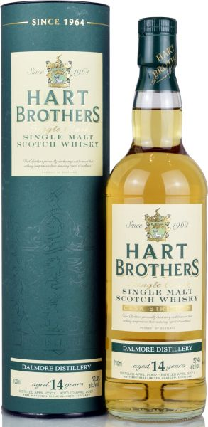 Dalmore 14 Jahre 2007/2021 Hart Brothers 52,4% vol.