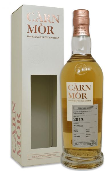 Williamson 8 Jahre 2013/2021 Carn Mor Strictly Limited 47,5% vol.