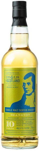 Deanston 10 Jahre 2009/2020 Idols of Scotland 46,5% vol.