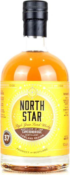 Cameronbridge 37 Jahre 1992/2019 North Star Spirits #008 51,0% vol.